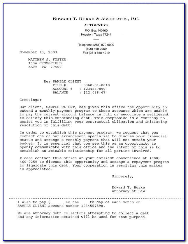 Full And Final Settlement Offer Letter Template
