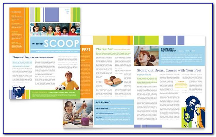 Kindergarten Newsletter Templates Word