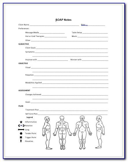 Medical Soap Note Template Free
