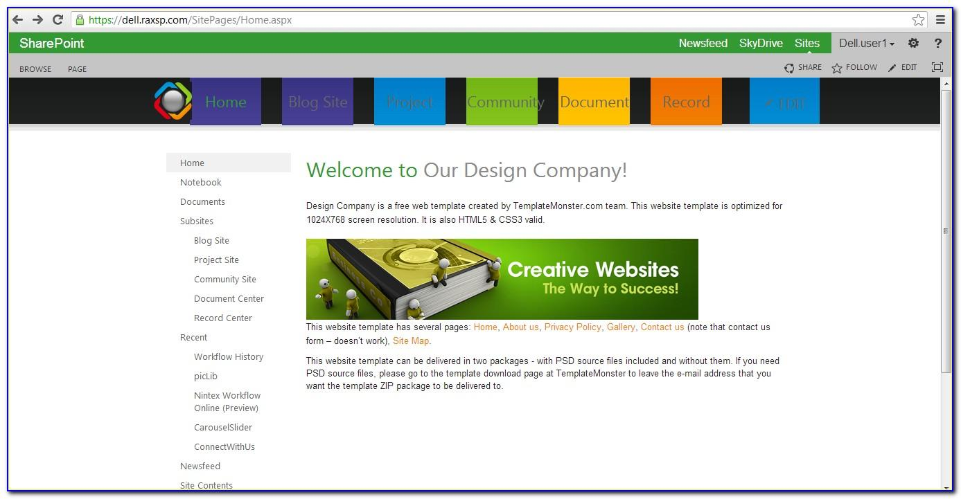 Microsoft Sharepoint 2010 Templates Free Download