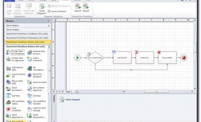 Microsoft Sharepoint Workflow Visio Template Download