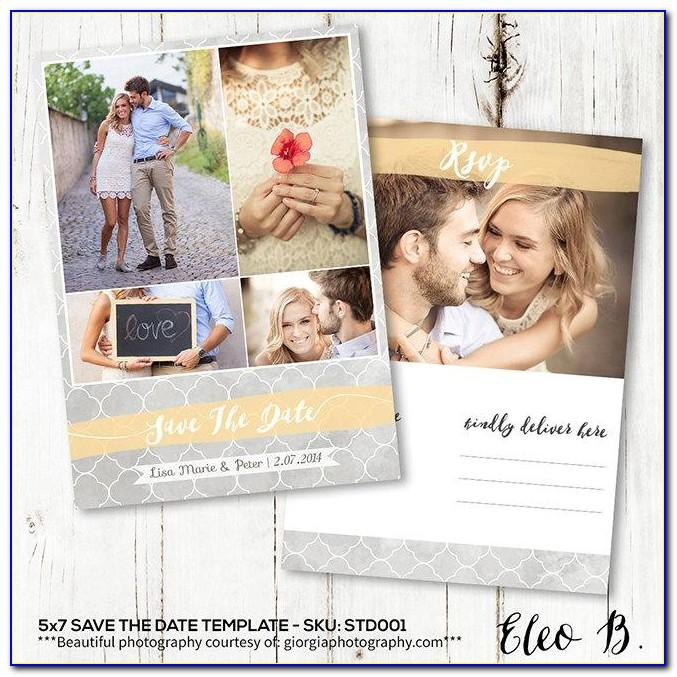 Non Wedding Save The Date Templates Free