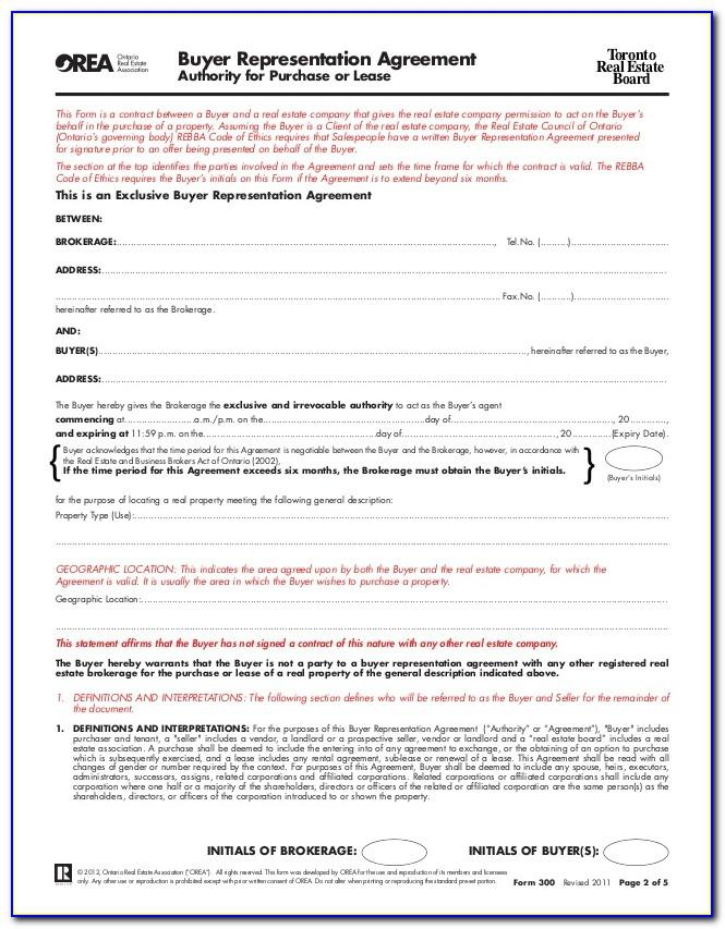 Ontario Standard Lease Form Download
