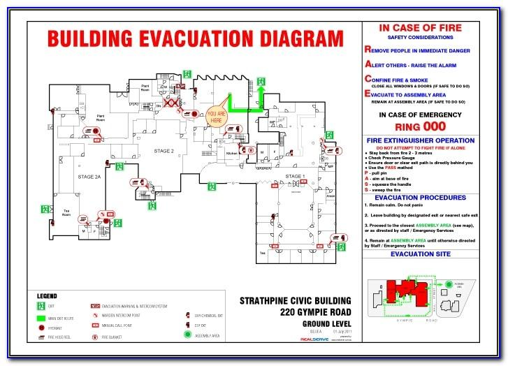 Personal Emergency Evacuation Plan Template School