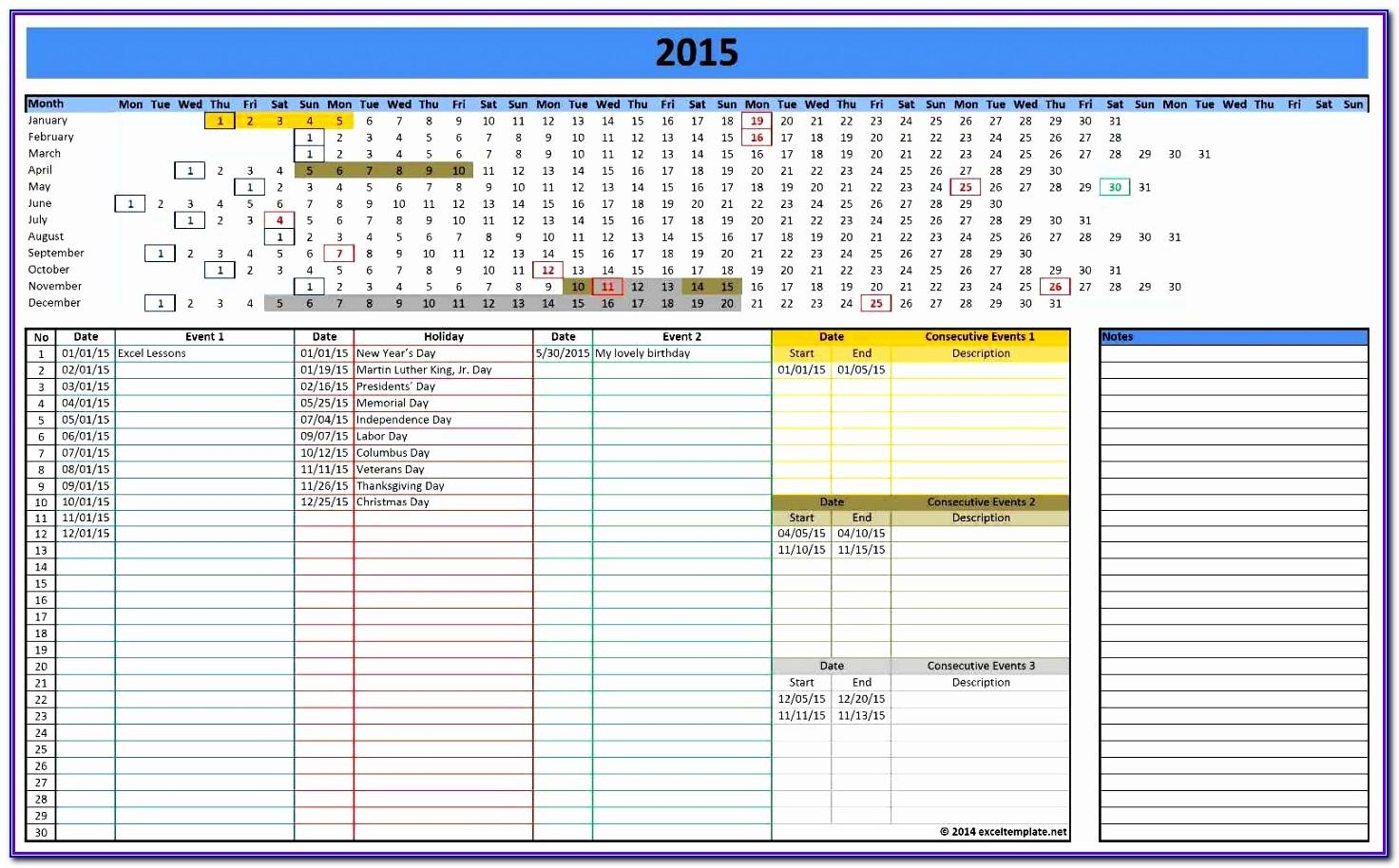 Project Schedule Template Microsoft Excel