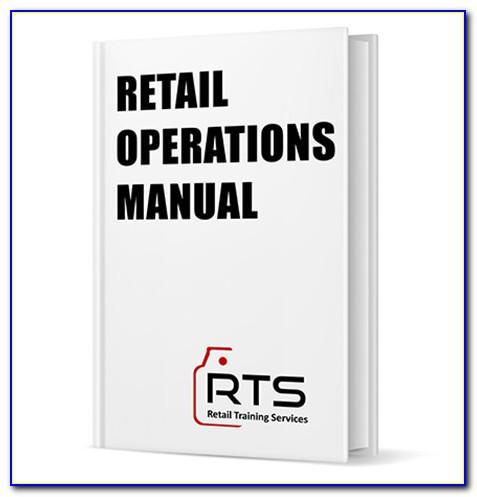 Retail Store Operations Manual Example