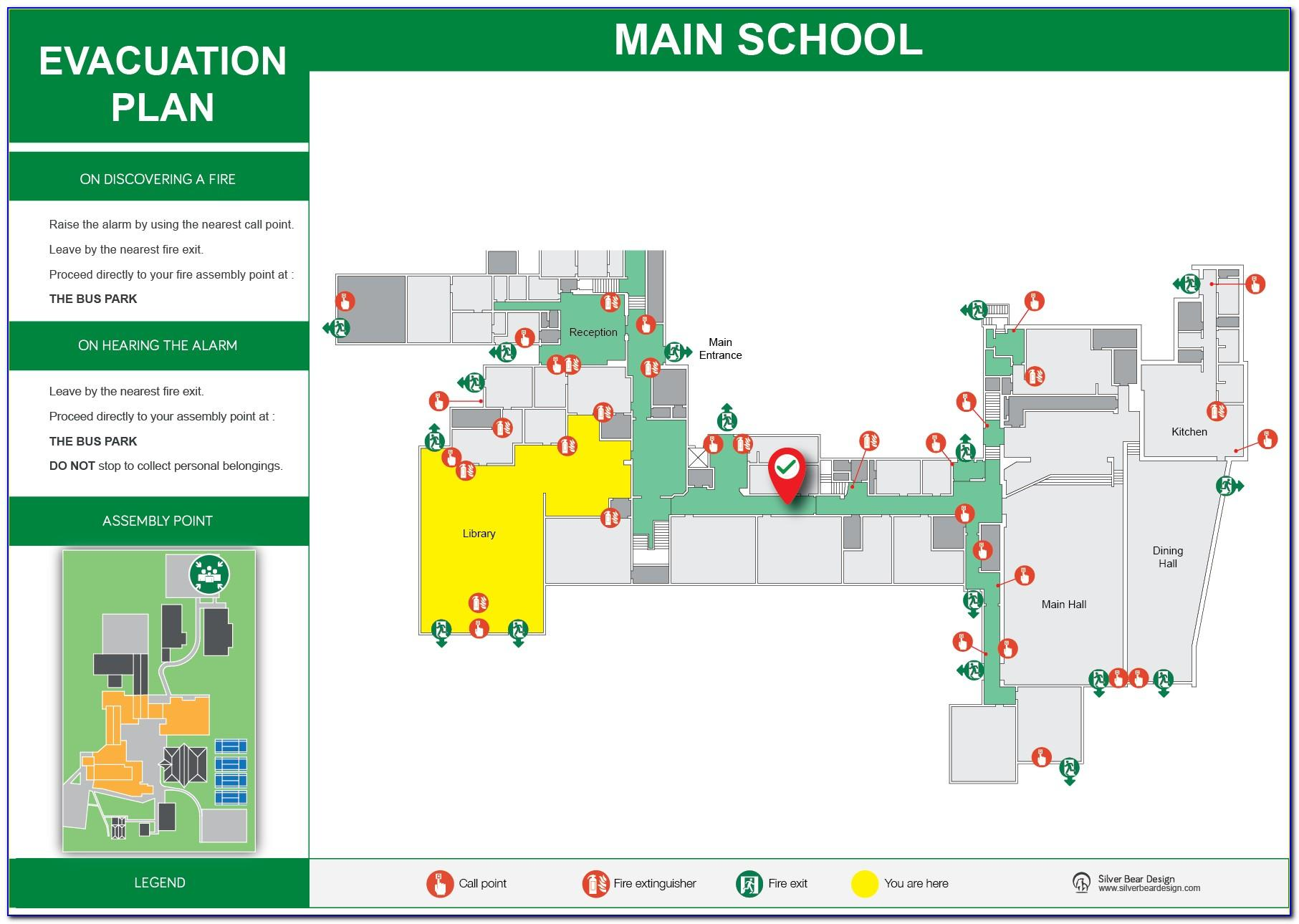 Sample School Fire Evacuation Plan