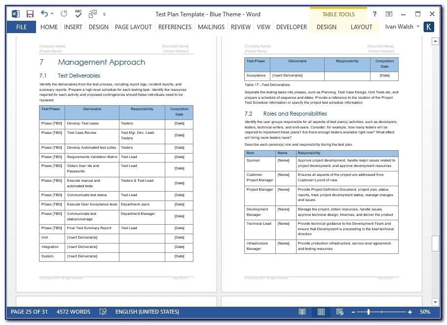 Sample Software Qa Test Plan