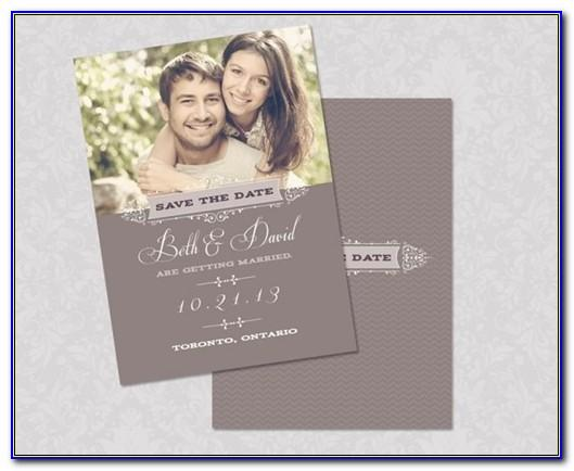 Save The Date Wedding Invitation Video Templates Free