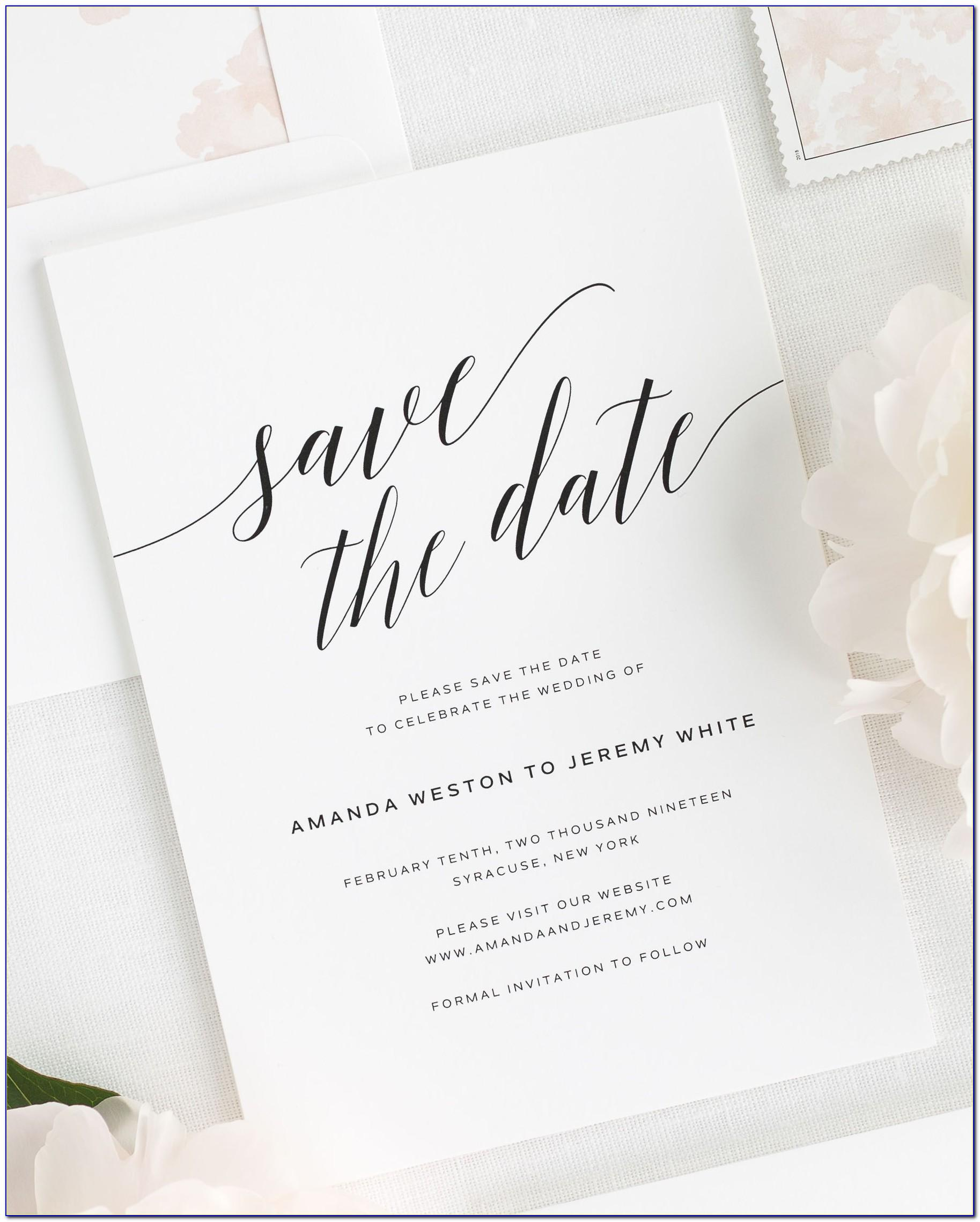 Save The Date Wedding Printables