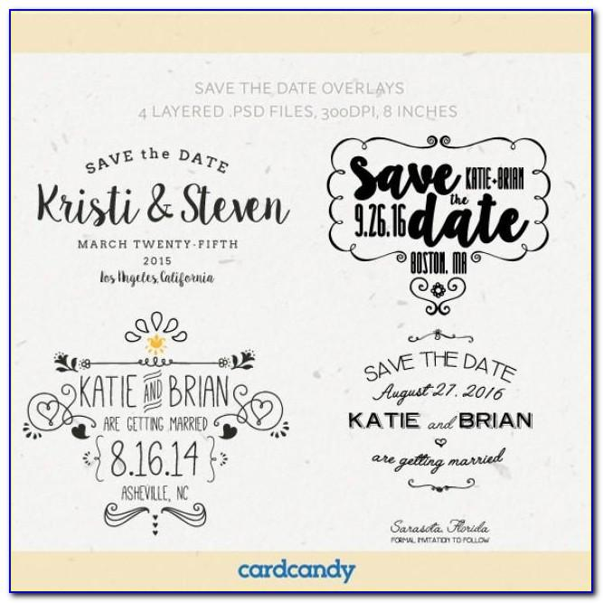 Save The Date Wedding Templates Free Online