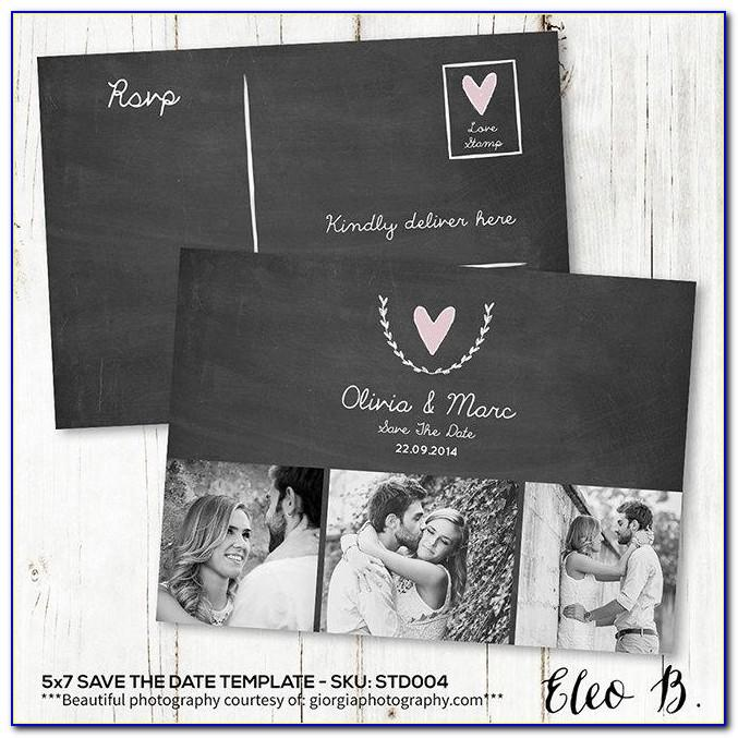 Save The Date Wedding Video Template Free Download
