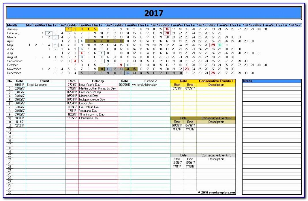 Schedule Template Microsoft Excel