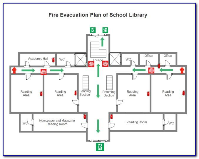 School Fire Evacuation Plan Format