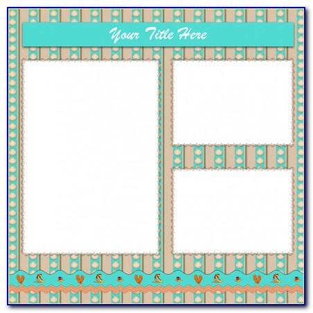 Scrapbook Templates Free Printable