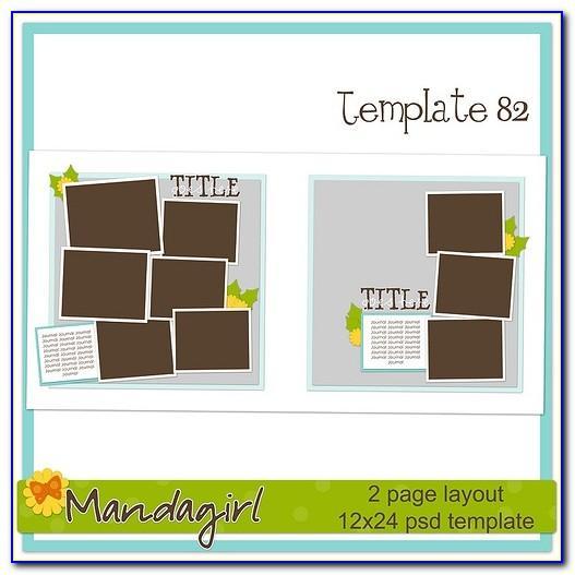 Scrapbooking Frame Templates Free
