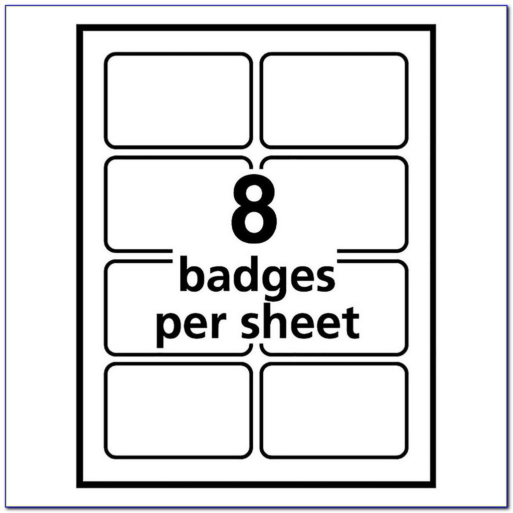 Security Badge Policy Template