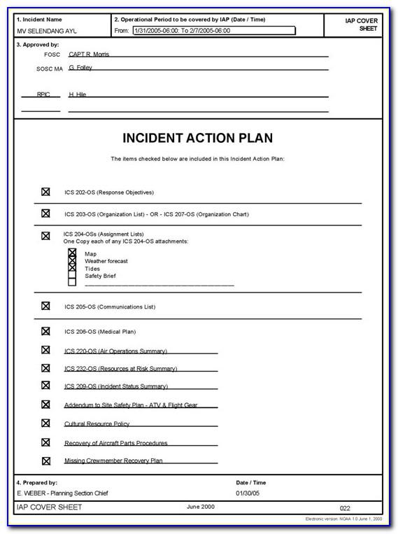 Security Incident Response Plan Example