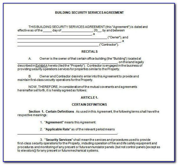 Security Officer Incident Report Form