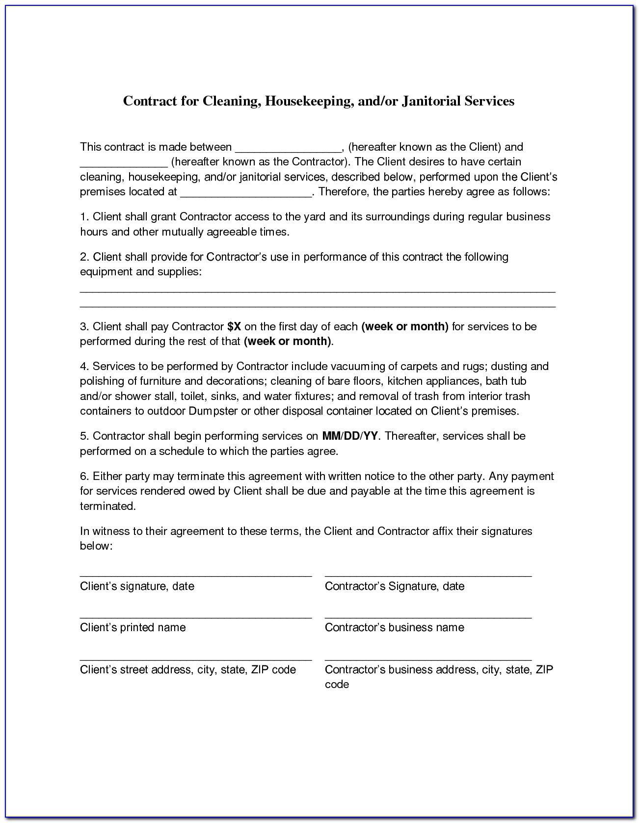 Self Employed Driver Contract Template