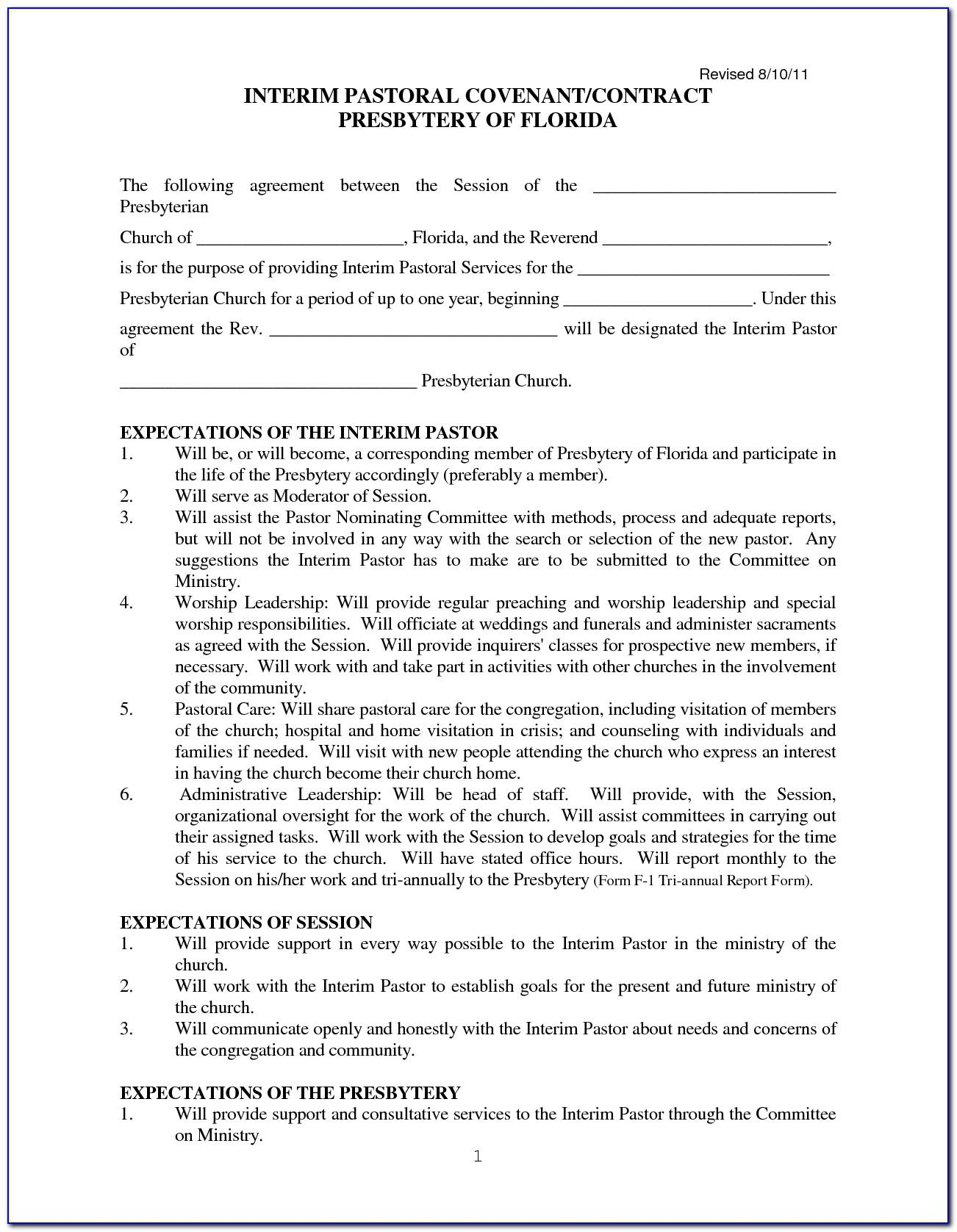 Self Employed Nanny Contract Template Uk
