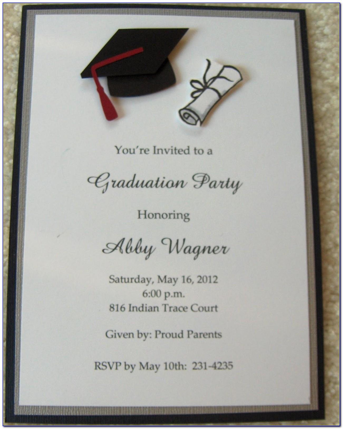 Senior Graduation Announcements Templates Photoshop