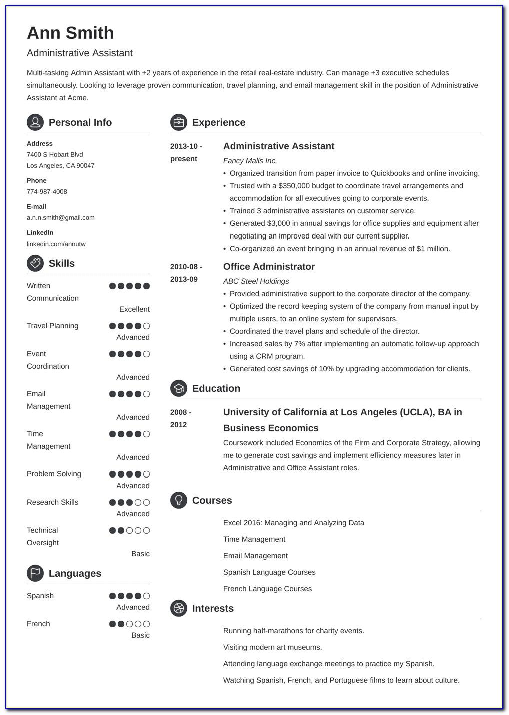 Senior Project Manager Resume Examples