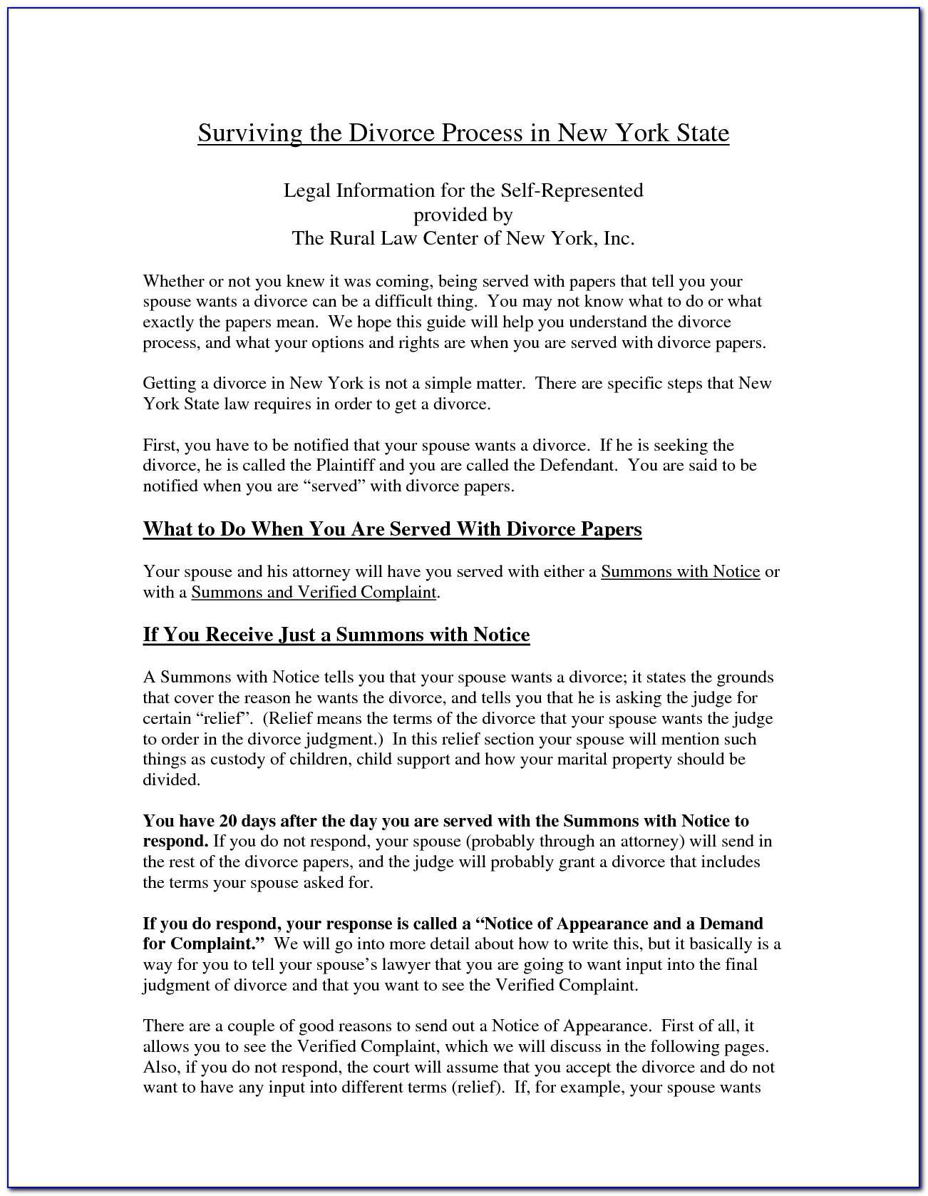 Separation Agreement Sample Ontario