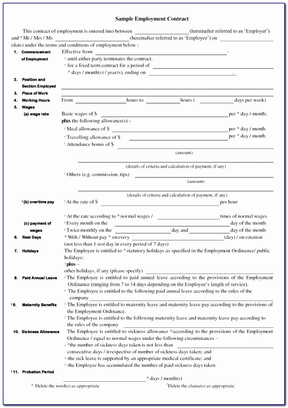 Separation Agreement Template Maryland