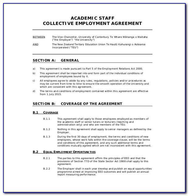Separation Agreement Template Nz