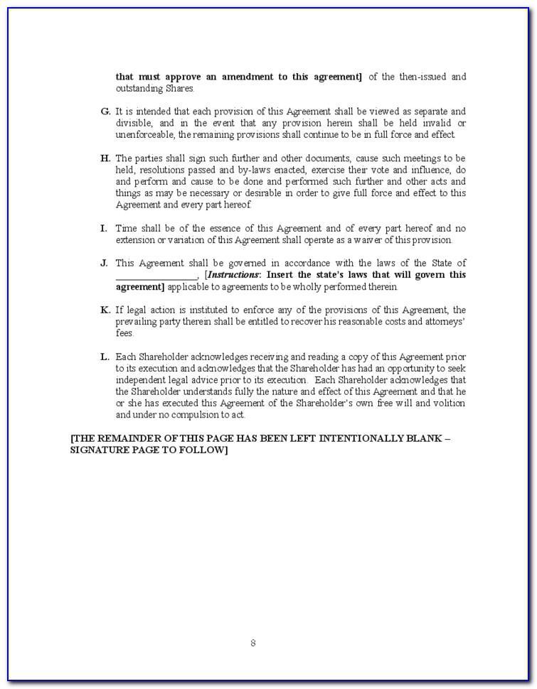 Shareholder Loan Agreement Template Free