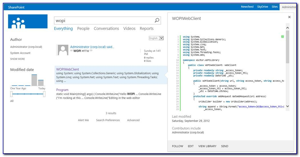 Sharepoint 2010 Project Template