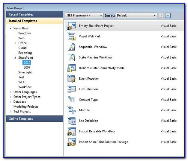 Sharepoint 2010 Project Tracking Template