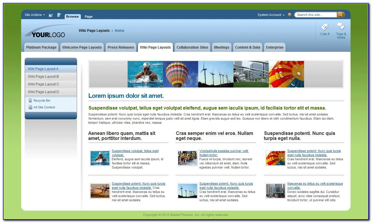 Sharepoint 2013 Master Page Templates