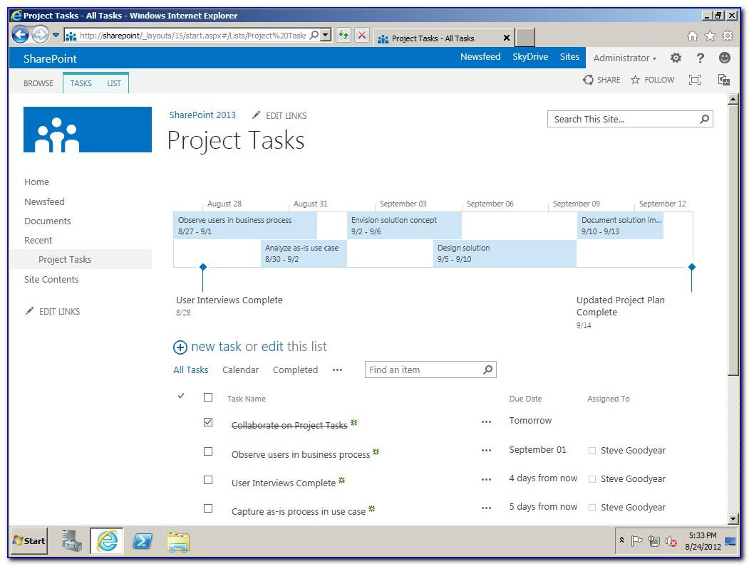 Sharepoint 2013 Project Site Template Not Available