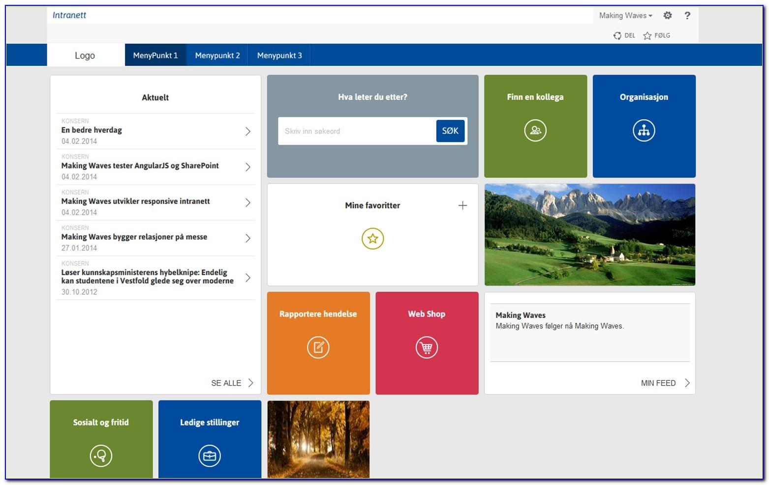 Sharepoint Foundation 2013 Free Templates