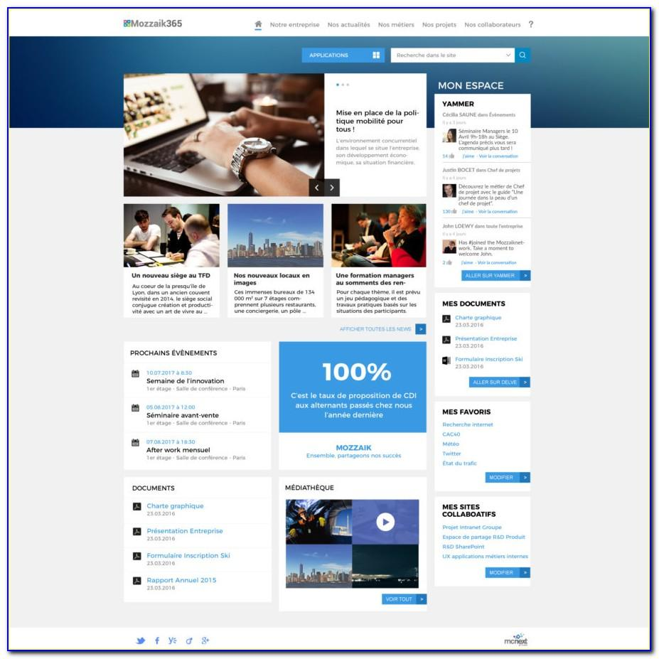 Sharepoint Intranet Portal Templates