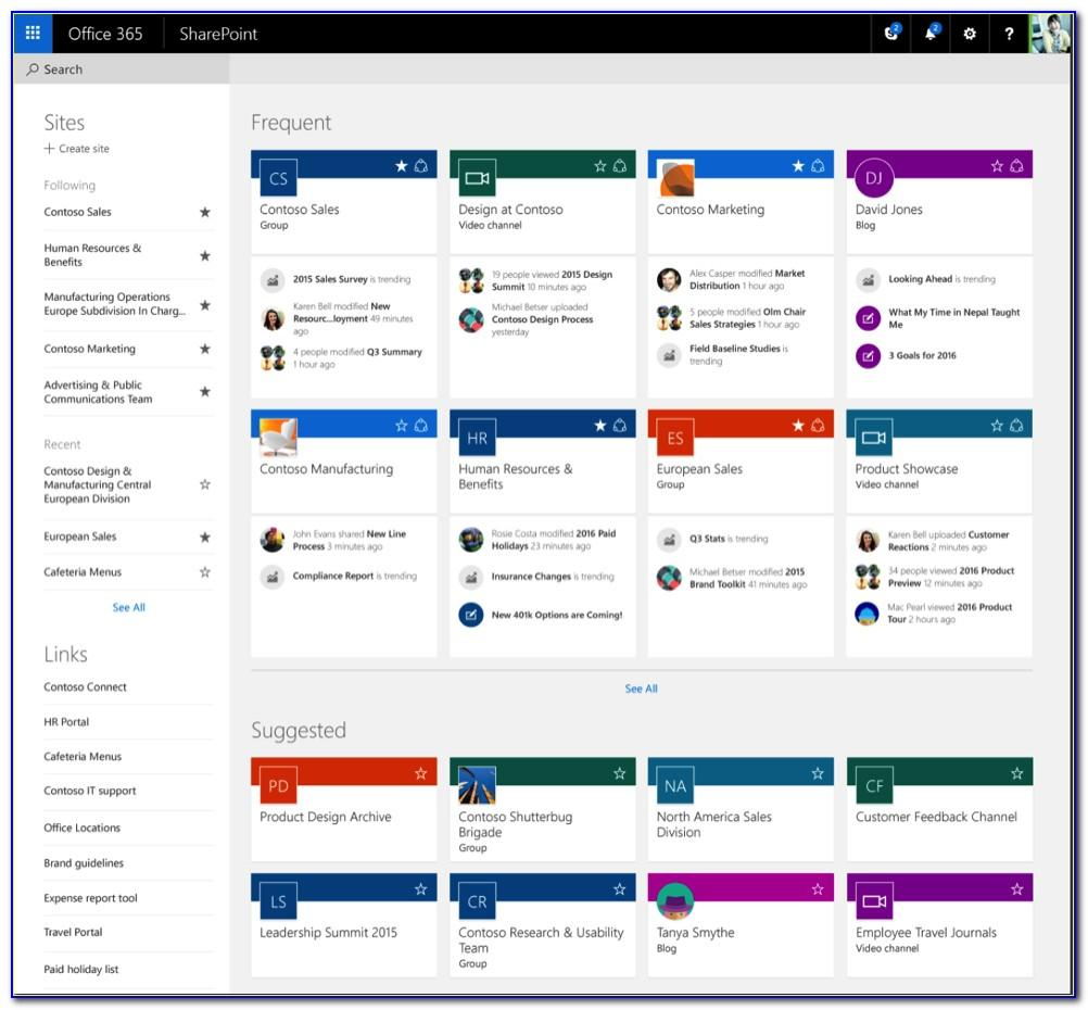 Sharepoint Intranet Template Download