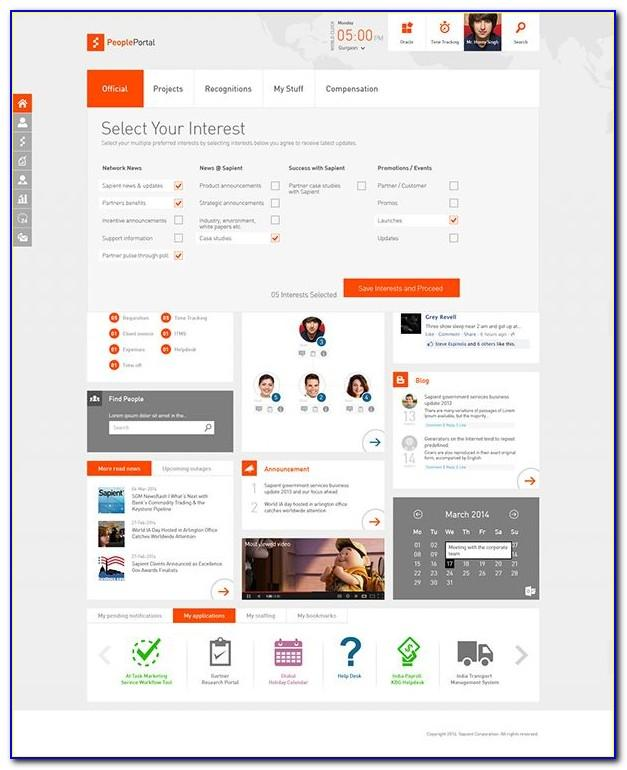 Sharepoint Online Intranet Site Template