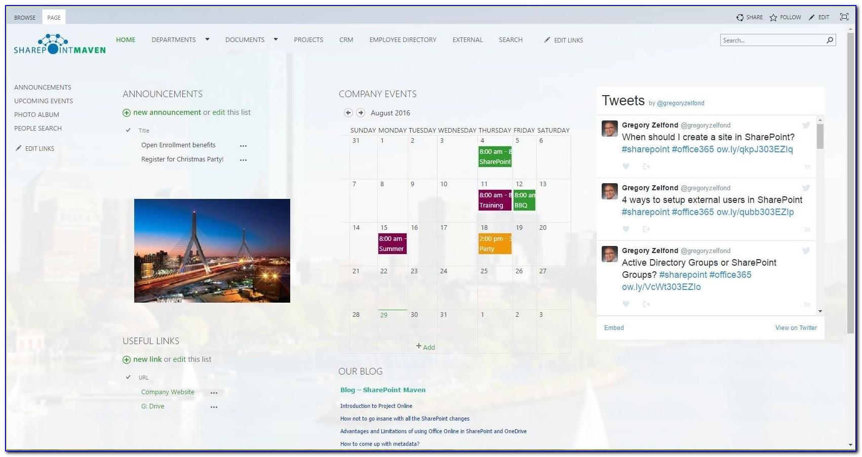 Sharepoint Online Templates Free