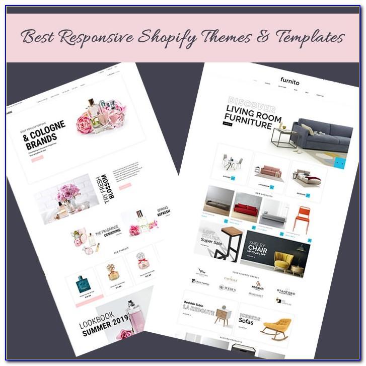 Shop List Ecommerce Muse Template