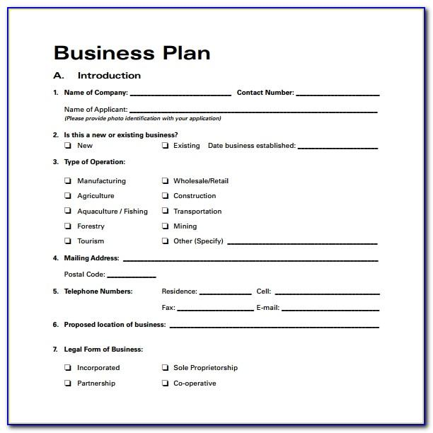Short Business Proposal Templates Free