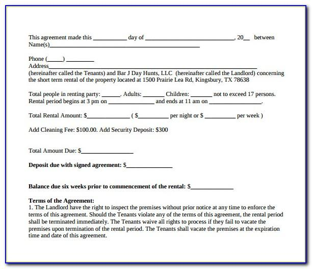 Short Term Consulting Agreement Template