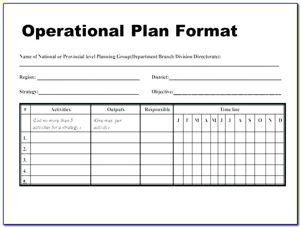 Simple Business Plan Template Free Word Document