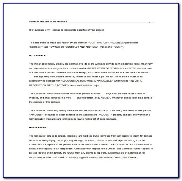 Simple Commercial Sublease Agreement Template