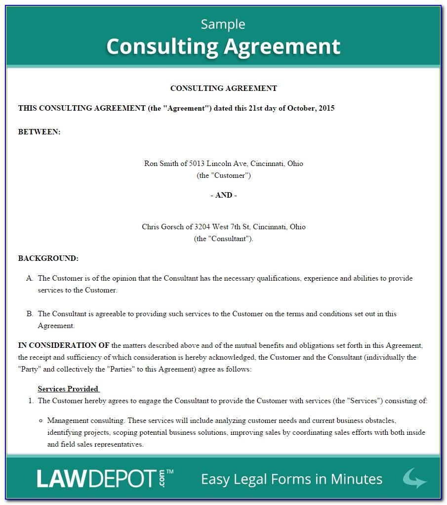 Simple Construction Contract Templates