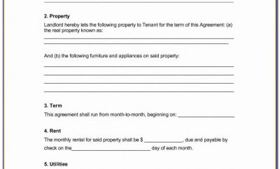 Simple Employee Separation Agreement Template