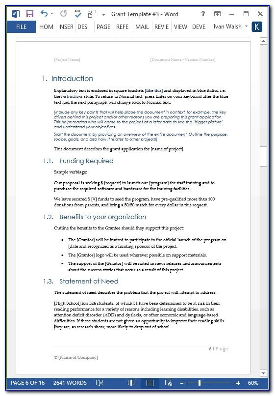 Simple Excel Project Plan Template Free