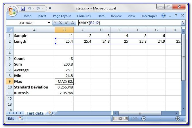 Simple Financial Plan Excel Template