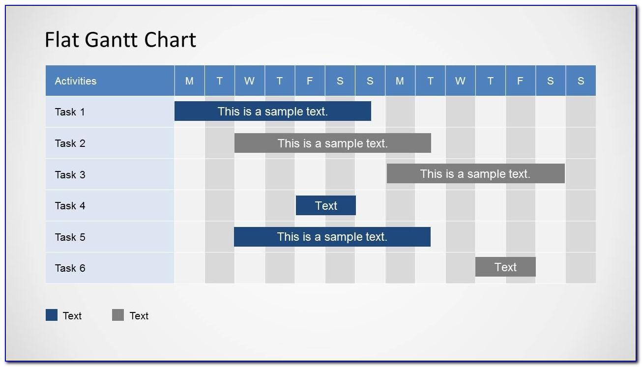 Simple Gantt Chart Template Free